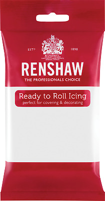 White Renshaw Ready To Roll Icing 250g Packets • 3.59£