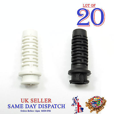20x 8mm Rubber Strain Cable Protector Wire Sleeve Bushing Cord • 6.94£