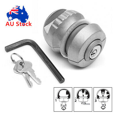 AU27.25 • Buy Insertable Hitch Lock Trailer Coupling Hitch Lock Tow Ball Car Caravan Security