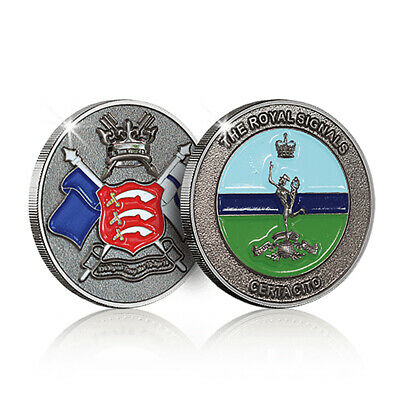 Royal Signals Military Memorabilia Challenge Spoof Coin • 10£