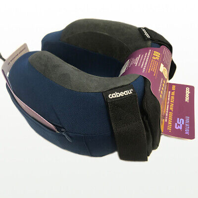 AU39.95 • Buy Cabeau Evolution S3 Memory Foam Neck Travel Pillow Indigo.