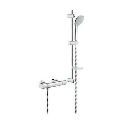 GROHE Grohtherm 1000 Cosmopolitan Thermostatic Shower With Bar Mixer 34437000 • 159.90£