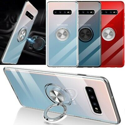 AU7.49 • Buy Samsung Note 20 S21 S20 Ultra 10 S9 S8 S10 Plus 5G Magnetic Ring Stand Case