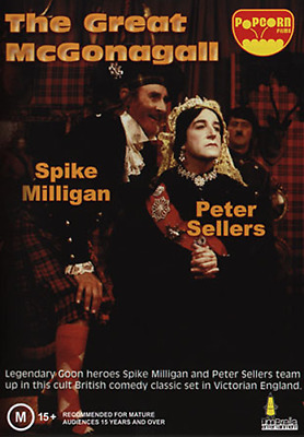 £10.90 • Buy Peter Sellers Spike Milligan THE GREAT McGONAGALL DVD (NEW & SEALED)