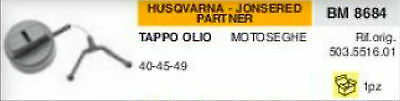 503.5516.01 Top Oil Petrol Chainsaw Husqvarna Jonsered Partner 40 45 49 • 11.96£