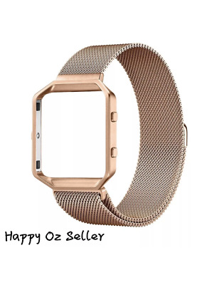 AU19.99 • Buy Fitbit Blaze Bands, Stainless Steel Milanese Magnetic Bracelet Replacement