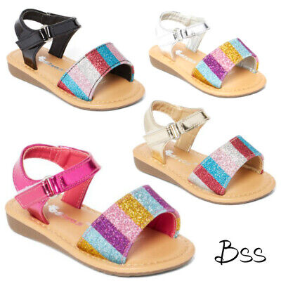 $6 • Buy Baby Infant Toddler Girls Glitter Sandals Size 1-6 New Clearance
