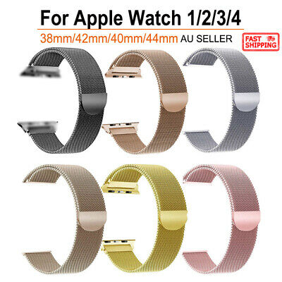 AU9.97 • Buy  Apple Watch Milanese Watch Band Strap Bracelet Loop For IWatch Series 5/4/3/2/1