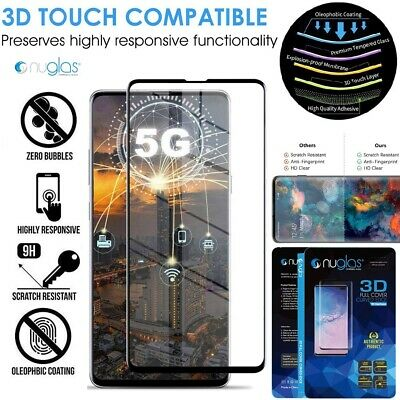 AU9.65 • Buy Galaxy S20 S10 S9 S8 Plus Note 10 NUGLAS Tempered Glass Screen Protector Samsung