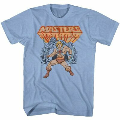 $19.50 • Buy Masters Of The Universe He-Man Light Blue T-Shirt