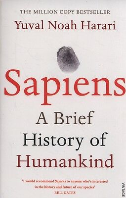 AU30.58 • Buy Sapiens: A Brief History Of Humankind By Yuval Noah Harari Paperback Book NEW