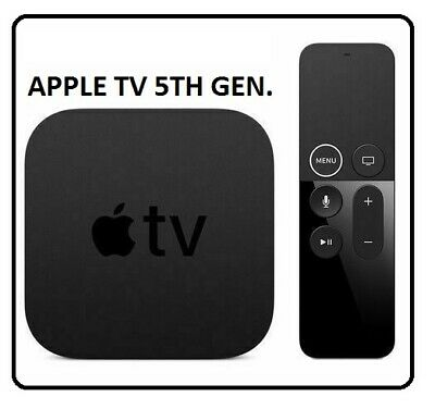 AU286.67 • Buy Apple TV (5th Generation) 4K 32GB HD Media Streamer - A1842 - MQD22 LL/A