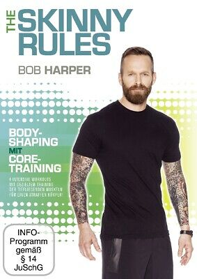 Bob Harper - The Skinny Rules- - Bob Harper -The Skinny Rules- Bodyshaping Mi... • 4.25£