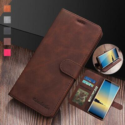 $ CDN7.99 • Buy For Samsung Galaxy S8 S9 S10+ A8+ A750 Note8/9 Leather Wallet Case Flip Cover