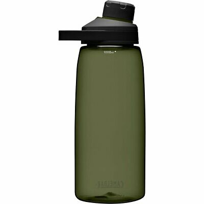 AU38.95 • Buy CamelBak Chute Mag 1 Litre Drink Water Bottle BPA Free Leak Proof - OLIVE