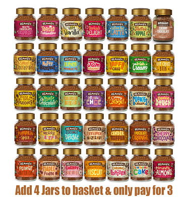 £4.30 • Buy Beanies Flavour Coffee, Candles And Shakes - Buy 3 Get 1 Free - All Flavours.
