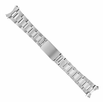$ CDN59.94 • Buy Oyster Watch Band Bracelet For Seiko 5 Diver Automatic Watch Shiny Matte 20mm Ss