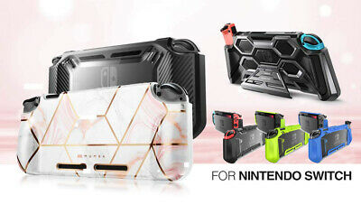 $17.99 • Buy For Nintendo Switch Console Grip Case Cover, Mumba Protective Shockproof Shell