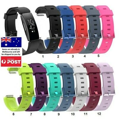 AU7.95 • Buy For Fitbit Inspire/Inspire HR Replacement Soft Silicone Sport Wrist Band Strap