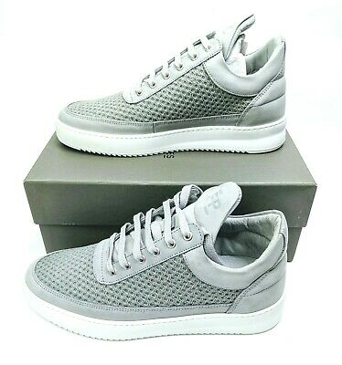 AU124.96 • Buy Filling Pieces Mens Size 39 US 7 UK 6 Shoes Low Top Ripple Light Grey Sneakers