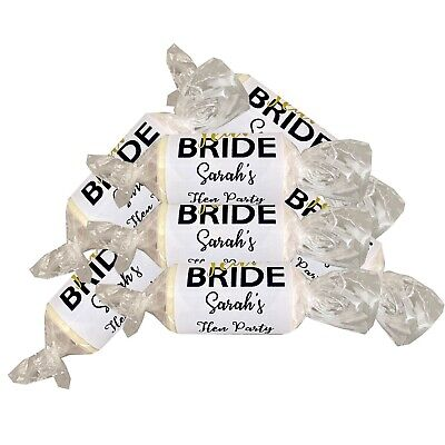 £6 • Buy TEAM BRIDE Mini Love Hearts Hen Night Party Favours Sweets Personalised
