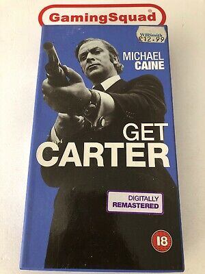 Get Carter (Cardboard) NEW VHS Video Retro, Supplied By Gaming Squad  • 15£
