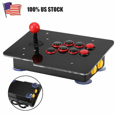 $35.88 • Buy Zero Delay Eight Direction Joystick USB 2.0 Wired Controller For PC Arcade Game