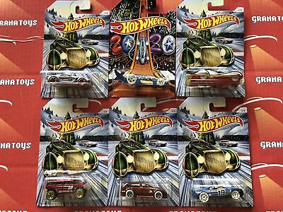 2019 Hot Wheels Christmas And New Years Assortment 6 Car Set Holidays • 7.99$