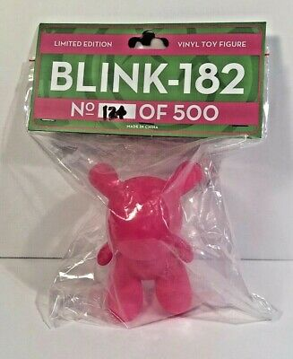Blink 182 Limited Edition Neon Pink Vinyl Toy Figure Bunny 134 Of 500 • 37.98£