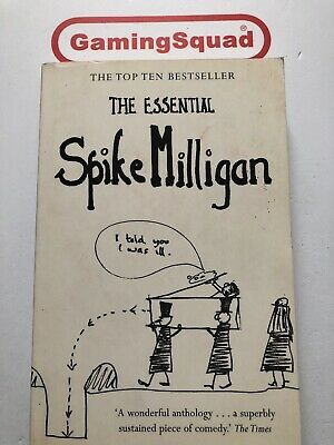 The Essential Spike Milligan PB Book, Supplied By Gaming Squad • 3.95£
