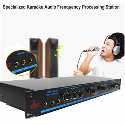 $189 • Buy Karaoke Mixer,Audio Frenquency Processing Station,Audio Sound Processor,DSP-100