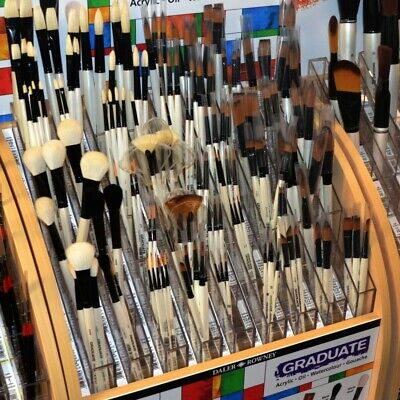 £4.30 • Buy Daler Rowney Graduate Brushes - 54 To Choose From