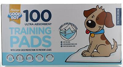 £16.99 • Buy Box Of 100 Ultra Absorbent Toilet Training Dog/Puppy Pads Triple Layer Good Boy