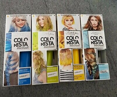 4x L'Oreal Colorista Washout Semi-Permanent Hair Dyes  • 12£