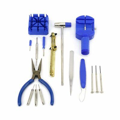 $ CDN10.11 • Buy 16PCS Watch Repair Tool Kit Band Pin Strap Link Remover Back Opener Screwdriver