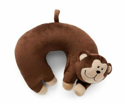 AU15.95 • Buy NEW Korjo Kids Squinchy Travel Neck Pillow Monkey - Ideal For Travel On Planes