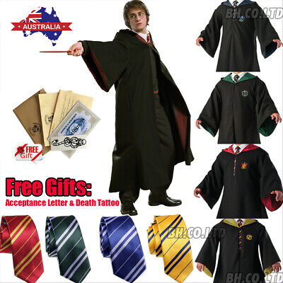 AU29.43 • Buy Harry Potter Gryffindor Robe Cosplay Costume Tie Scarf LED Wand Halloween
