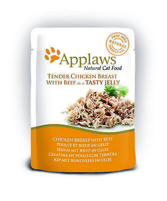 Applaws Natural Pouches In Jelly Cat Food | Cats • 24.48£