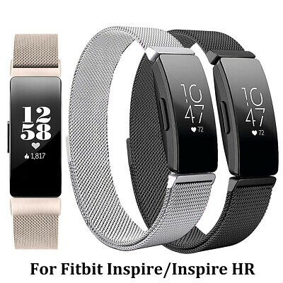 AU9.99 • Buy Replacement Mesh Watch Band Milanese Magnetic For Fitbit Inspire HR /Inspire