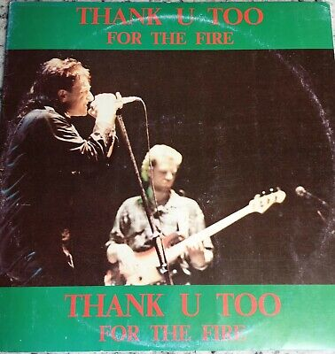 U2 - LIVE Milano 1985 - Thank U Too For The Fire Double LP / 7 Inch Single  • 49$
