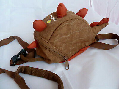 LITTLE LIFE TODDLERS REINS / BACKPACK / HARNESS WITH HANDLE - Dinosaur • 9.95£