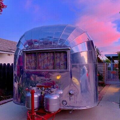 vintage airstream trailer