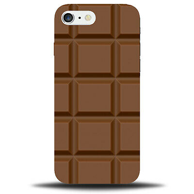 Novelty Chocolate Blocks Phone Case Cover Phonecase Food Picture Design D749 • 9.99£