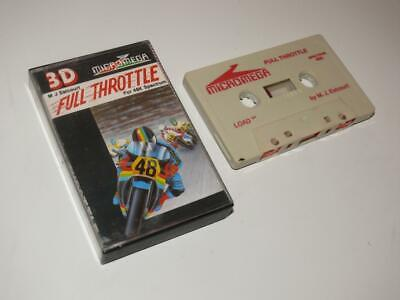 Sinclair ZX Spectrum ~ Full Throttle By Micromega ~ SCC • 3.99£