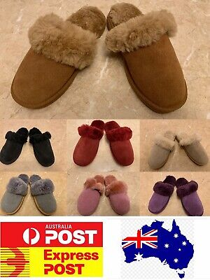 AU28.99 • Buy UGG Sheepskin Scuff Slippers, Comfy And Warm For Winter, AU Stock