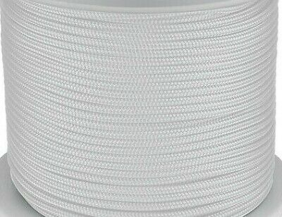 AU24.45 • Buy 6mm X 30m Polyester Rope Double Braided White Sailing Mooring Yacht