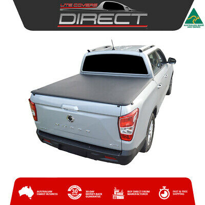 AU381 • Buy ClipOn Tonneau Cover For Ssangyong Musso Dual Cab - 2018 Onwards