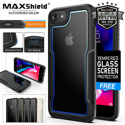 AU14.24 • Buy IPhone 6S 6 Plus ,8 7 Plus Case Maxshield Ultra Hybrid Hard Cover For Apple