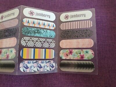 AU2.50 • Buy BeneYou Jamberry Consultant Supplies Sample Cards 10 Cards
