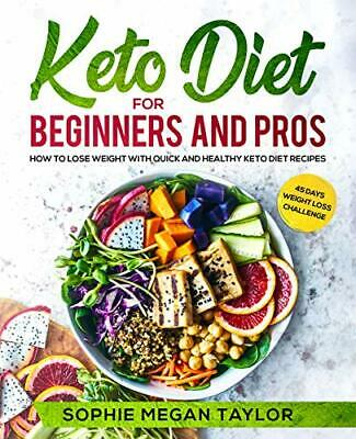 Keto Diet For Beginners Pros How To Lose Weight Quick Healthy Cookbook Book PDF • 1.99$